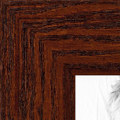 Picture Frame Black Stain On Pine 15 Wide 12 X 36 Brown