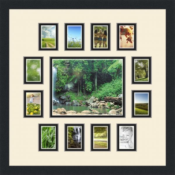 Art To Frames Double Multimat 381 12889 Frbw26079 Collage Photo
