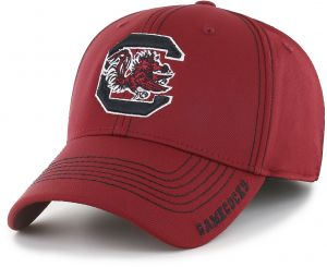 9b5e947457a OTS NCAA South Carolina Fighting Gamecocks Adult Start Line Center Stretch  Fit Hat