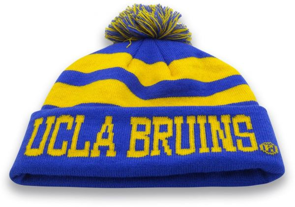 576f095e9ea04 The Game NCAA Ucla Bruins Knit Roll-Up Beanie