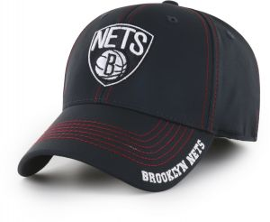 16ac0b536d0a2 OTS NBA Brooklyn Nets Adult Start Line Center Stretch Fit Hat