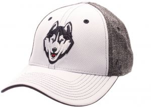 best sneakers a587b 60687 ... where can i buy zephyr ncaa connecticut huskies adult men equinox hat  medium large white heather