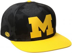 hot sale online 45104 59c0d NCAA Michigan Wolverines Toasty Snapback Cap, One Size, Michigan