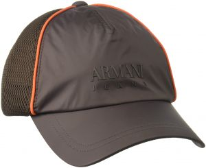 d1f9f446e6e50 Armani Exchange Men s Mesh Embroidered Logo Baseball Cap