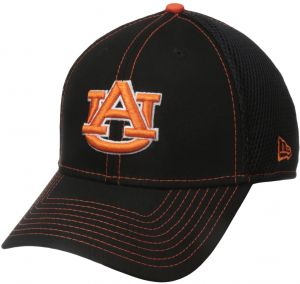 timeless design 25b4e 2a374 New Era NCAA Auburn Tigers College Crux Line Neo 39THIRTY Stretch Fit Cap,  Small Medium, Black