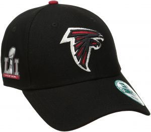 more photos d32ca 4ca44 New Era NFL Atlanta Falcons Men s The League Super Bowl Li Side Patch  9FORTY Adjustable Cap, One Size, Black