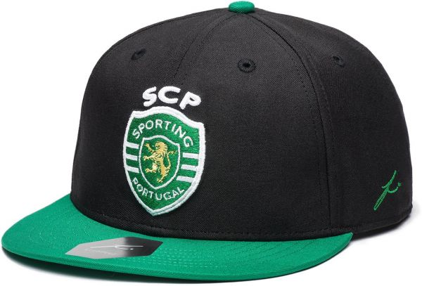 Sporting Clube De Portugal Fi Collection Snapback Flatbill Soccer Hat 273bd34140a0