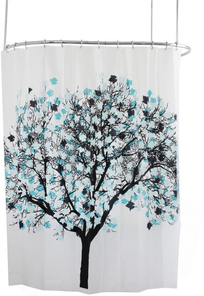 Splash Home EVA 5G Shower Curtain Liner Design Bathroom Bathtubs