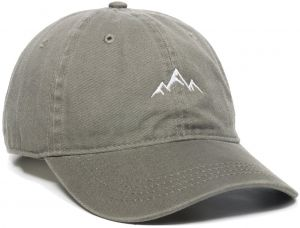 7439e37a3fb07 Outdoor Cap -Adult Mountain Dad Hat-Unstructured Soft Cotton Cap