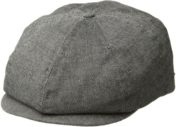 17c05f99 Brixton Men's Brood Newsboy Snap Hat, Blue Denim, M | KSA | Souq