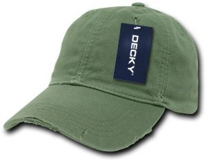aeef83ee575 DECKY Vintage Fitted Polo Cap
