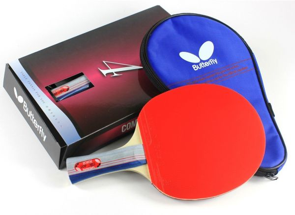 b06ad889daac Butterfly 401 Table Tennis Racket Set - 1 Ping Pong Paddle - 1 Ping ...