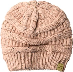 8deda8f23dc D Y Women s David and Young s Colorful Confetti Soft Stretch Slinky Beanie