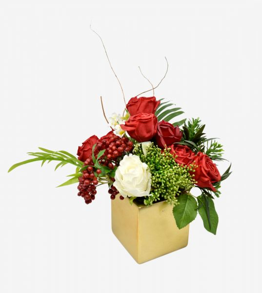 Artificial Rose Flower With Flower Box For Wedding Decoration Rose