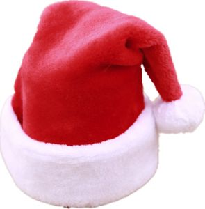 5c345ee518228 Christmas hat high-grade short plush Christmas hat Increase thickening big  ball Christmas hat Santa hat Christmas party decoration hat