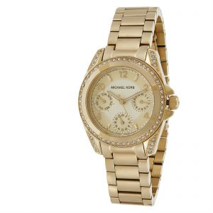 ec712b6d593b Michael Kors Women s Gold Dial Stainless Steel Band Watch - MK5639