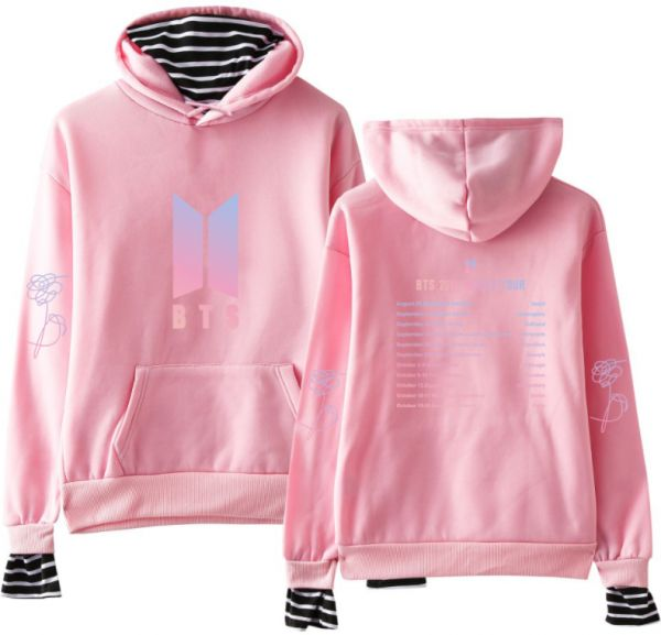 df5051d1f49 BTS Love Yourself Kpop Women Turtleneck hoodies Sweatshirts hoodies ...