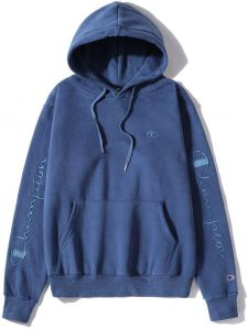 26079a057b48c Champion Pullover Blue hoodie for lady Ins Hot Hooded Sweatshirt For girl  and women