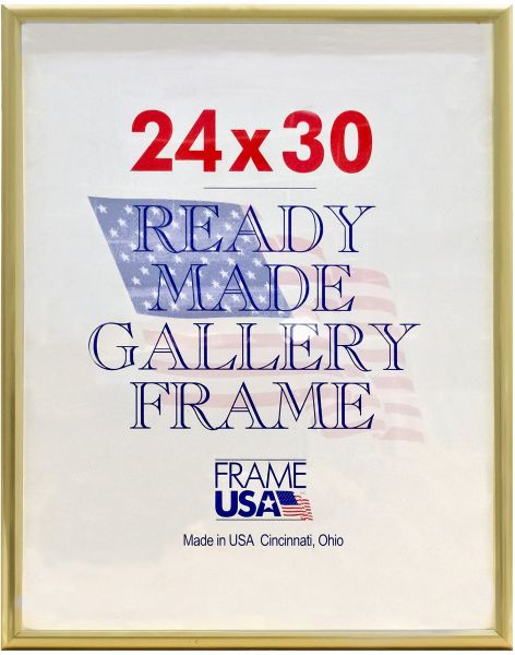 Deluxe Poster Frame 24 X 30 Gold Souq Uae