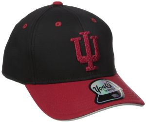 NCAA Indiana Hoosiers Youth Boys Performance Structured Snapback Hat d34eb2b12