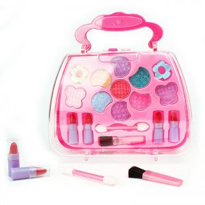 Princess Makeup Cosmetics Set Kids Safety Play Fashion Kit Pretend Toys Children Cosmetic Case Christmas Birthday Gifts For Girl