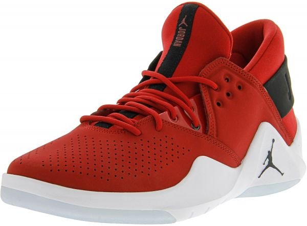 ac6ea696b224e8 Nike Men s Jordan Flight Fresh Gym Red   Black - WHite Mid-Top ...