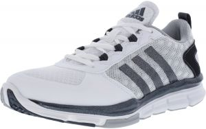 adidas Men s Speed Trainer 2 Footwear WHite   Carbon Metallic Clear Onix  Low Top Baseball Shoe - 7.5W f4160567c
