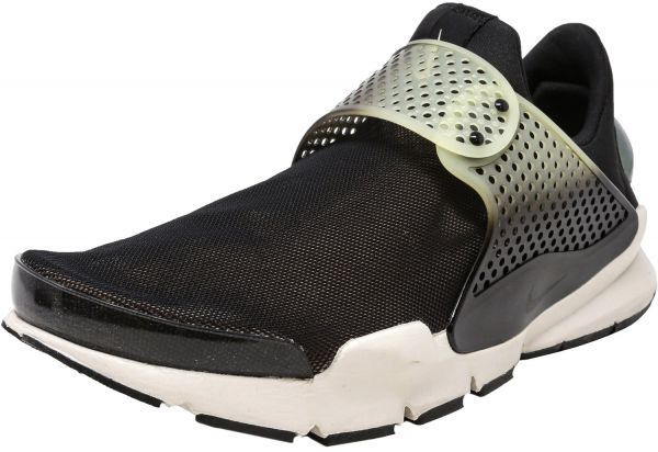size 40 e8a4e cfea1 Nike Men s Sock Dart Se Premium Black   Bio Beige-Light Bone Low Top ...
