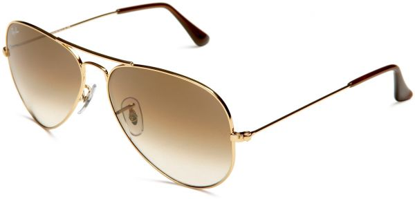 79f28604a5 RayBan RB3025 001 51 Size 55 Gold Crystal Brown Gradient Sunglasses ...