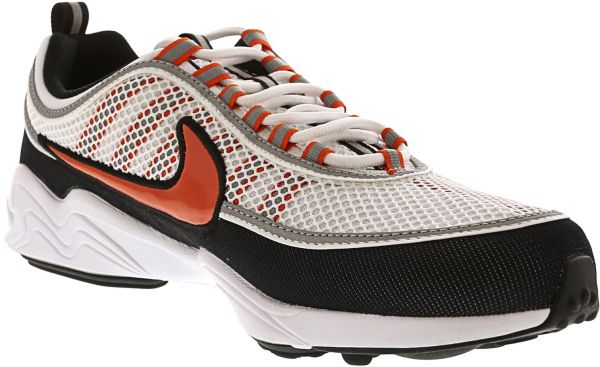 9407815656917 Nike Men's air Zoom Spiridon 16 White / Team Orange - Black ankle ...