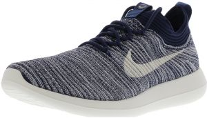 810a70ffe7e4a Nike Women s Roshe Two Flyknit V2 College Navy   Sail Ankle-High Running  Shoe - 8M