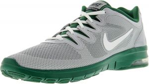 huge discount 02401 fb982 Nike Women s Air Max Fusion Team Wolf Grey   White - Green Pure Platinum  Ankle-High Mesh Running Shoe 9.5M