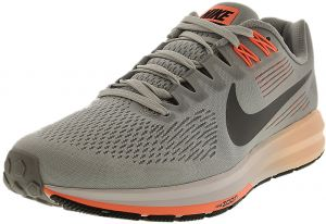 3b3e661796633d Nike Women s Air Zoom Structure 21 Wolf Grey   Dark Ankle-High Mesh Running  Shoe - 8M
