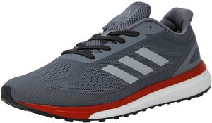 adidas Men s Response Lt Grey   Silver Metallic Scarlet ankle-High Fabric  Running Shoe - 10.5M e37e9d191