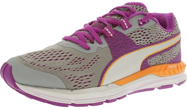 7d2890e59df6 Puma Men s Speed 600 Ignite Quarry Purple Silver Ankle-High Running ...