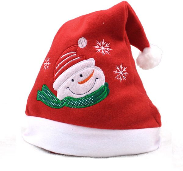 bafa74d7eacff Christmas Hat Adult Christmas Decor Supplies Warm Comfy Christmas ...