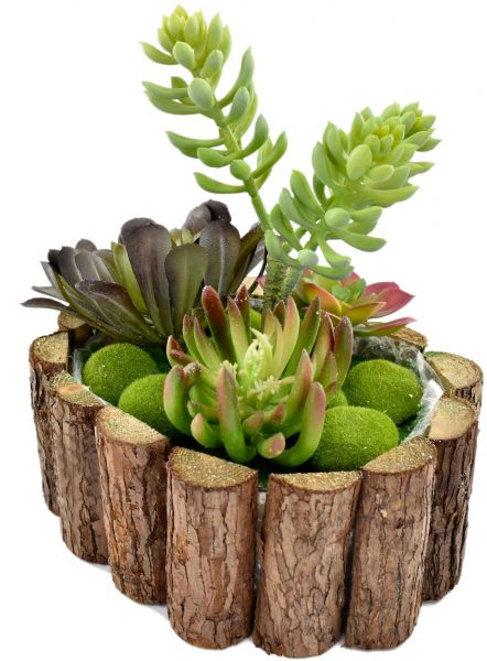 Artificial Succulent Plant Arrangements For Office Home Decor Mini Plants Garden Indoor