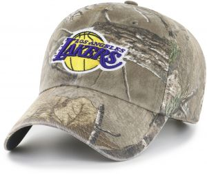 watch 60707 fc7fb OTS NBA Los Angeles Lakers Realtree Challenger Clean Up Adjustable Hat,  Realtree Camo, One Size
