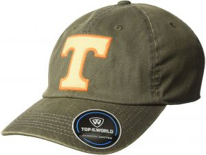 separation shoes 1bef6 38e96 Top of the World NCAA Tennessee Volunteers Men s Adjustable Dispatch  Charcoal Icon Hat, Charcoal