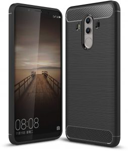 Huawei Mate 10 Pro case, Carbon Fiber Design Flexible Soft TPU Case Highstrength Shockproof Protective Back Cover to Protect the Mobile Phone for Huawei ...
