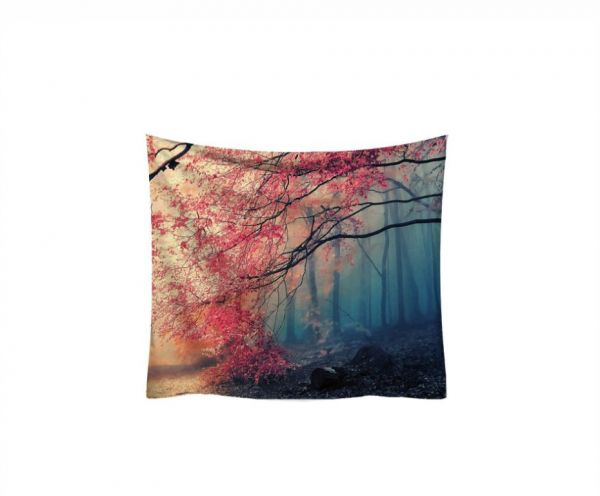 Fantasy Forest Artistic Conception Bedroom Tapestry Decor Beach