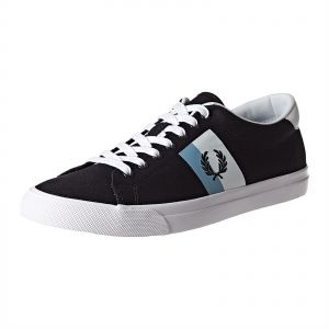 4aa0b7fb8c3d4 Fred Perry Underspin Twill Fashion Sneakers for Men