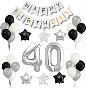 Sale On 40th Happy Birthday Amscan Magjuche Theme My Party Uae