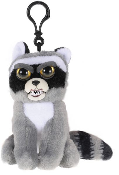 d0734e8add17 Feisty Pets Mini Raccoon Rascal Rampage Keychains adorable Plush ...