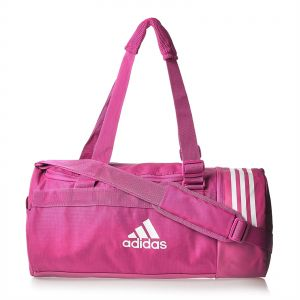 42179681ac adidas CVRT 3S Duf S Unisex Outdoor Duffle Bag - Shock Pink