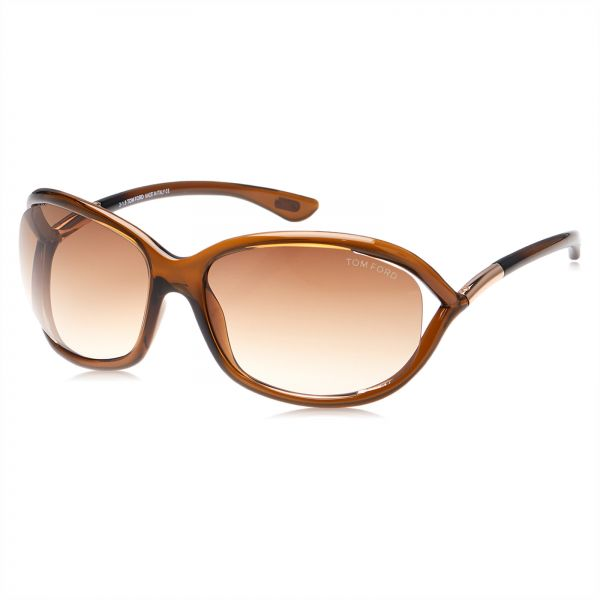 64fd41f59e Tom Ford Jennifer Oversized Sunglasses for Women - Brown Lens ...