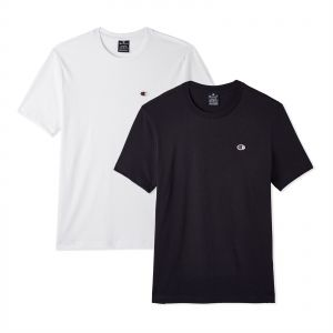 2d0582b2292441 Champion Sport T-shirt Set for Men - White Black