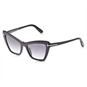 6a17770124d2 Tom Ford Cat Eye Sunglasses for Women - Grey Lens
