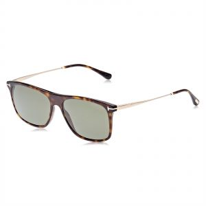bb1e178e1aaf Tom Ford Square Unisex Sunglasses - Grey Lens