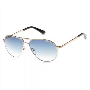 88a99866e15e Tom Ford Marko Aviator Sunglasses for Men - Blue Lens